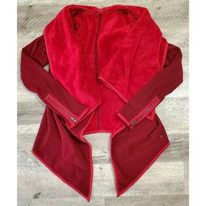 Lululemon Womens Presence Of Mind Red Wrap Jacket